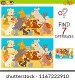 cartoon illustration of finding ... | Shutterstock .eps vector #1167222910