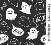 halloween festive seamless... | Shutterstock .eps vector #1167233686