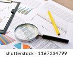 economical stock market graph .... | Shutterstock . vector #1167234799