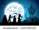 illustration blue background... | Shutterstock .eps vector #1167235123