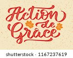 action de grace   thanksgiving... | Shutterstock .eps vector #1167237619