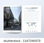 modern vector template for... | Shutterstock .eps vector #1167240373