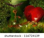 heart house | Shutterstock . vector #116724139