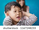 child play with mom on against... | Shutterstock . vector #1167248233