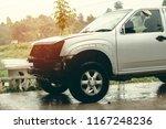 car waiting repair in the... | Shutterstock . vector #1167248236