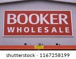 london  august  2018  booker... | Shutterstock . vector #1167258199