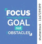 focus on the good quote...   Shutterstock .eps vector #1167259399
