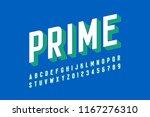 modern font design  alphabet... | Shutterstock .eps vector #1167276310