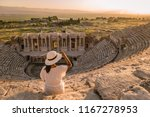 hierapolis ancient city... | Shutterstock . vector #1167278953