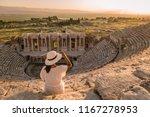 hierapolis ancient city... | Shutterstock . vector #1167278953