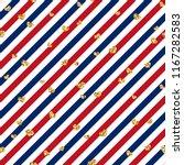 gold heart seamless pattern.... | Shutterstock .eps vector #1167282583