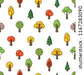 vector background  seamless... | Shutterstock .eps vector #1167283090