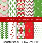 ten christmas different... | Shutterstock .eps vector #1167291649