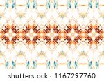 melting colorful symmetrical... | Shutterstock . vector #1167297760