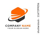 faster the future logo template ... | Shutterstock .eps vector #1167299056