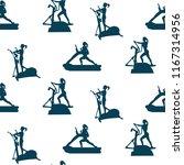 sports pattern   female...   Shutterstock .eps vector #1167314956
