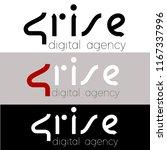 number 4 logo design vector... | Shutterstock .eps vector #1167337996