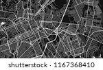 black white map city curtiba | Shutterstock .eps vector #1167368410