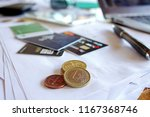 euro money. euro cash... | Shutterstock . vector #1167368746