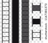 film strip  vector illustration.... | Shutterstock .eps vector #1167381373