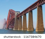 forth bridge  cantilever... | Shutterstock . vector #1167384670
