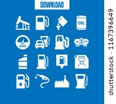 petrol icon. this set with... | Shutterstock .eps vector #1167396649