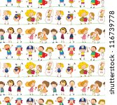 illustration of a kids on a... | Shutterstock . vector #116739778