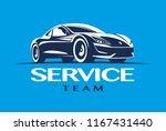 modern car logo template.... | Shutterstock .eps vector #1167431440