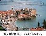 budva  montenegro   april 2018  ... | Shutterstock . vector #1167432676