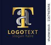 ta initial letter logo icon...   Shutterstock .eps vector #1167465646