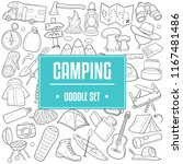 camping mountain traditional... | Shutterstock .eps vector #1167481486