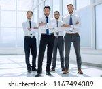 portrait of a successful...   Shutterstock . vector #1167494389