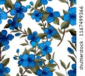 watercolor seamless pattern... | Shutterstock . vector #1167499366