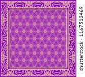 design print for kerchief. the... | Shutterstock .eps vector #1167513469