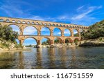 Pont Du Gard Is An Old Roman...