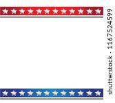 stars stripped edge background | Shutterstock .eps vector #1167524599