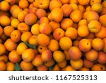 fresh yellow apricot background ...   Shutterstock . vector #1167525313