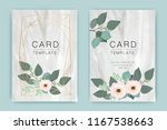 wedding card template with... | Shutterstock .eps vector #1167538663