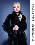 beautiful woman in luxurious... | Shutterstock . vector #1167544486