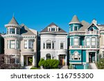 Classic Victorian Houses In Sa...