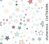 seamless vector repetitive... | Shutterstock .eps vector #1167563686