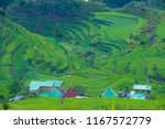 view of rice terraces fields in ... | Shutterstock . vector #1167572779