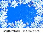 merry christmas and happy new... | Shutterstock .eps vector #1167574276