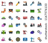 colored vector icon set   barn... | Shutterstock .eps vector #1167576133