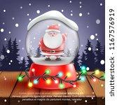 snow ball.santa.3d realistic...   Shutterstock .eps vector #1167576919