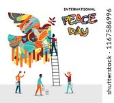 International Peace Day Card...