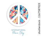 international peace day... | Shutterstock .eps vector #1167587023