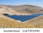 mountians with sea and... | Shutterstock . vector #1167591940