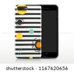abstract pattern on phone case... | Shutterstock .eps vector #1167620656