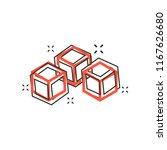 vector cartoon blockchain...   Shutterstock .eps vector #1167626680